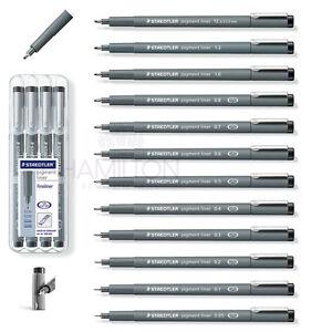 STAEDTLER Pigment liner-stylo dessin graphique dans différentes largeurs de ligne 9  </span>