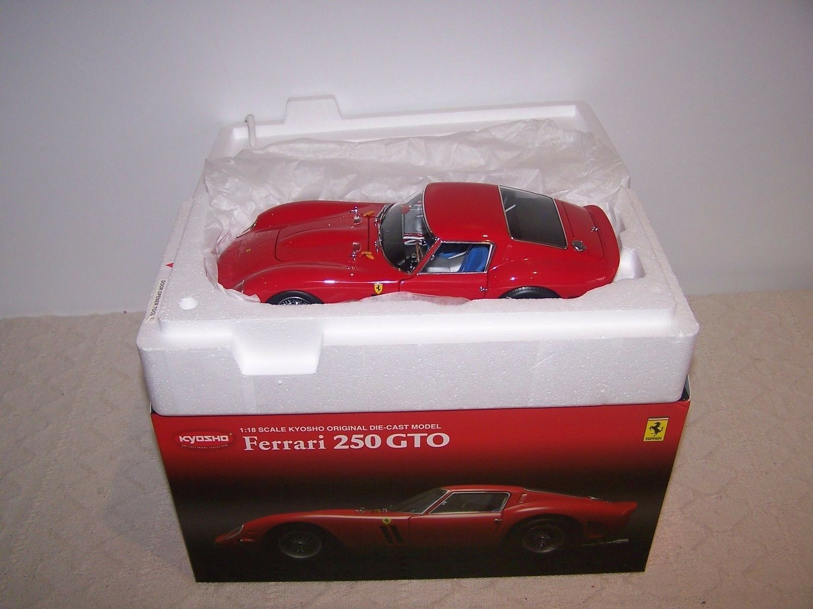 1 18 Kyosho Ferrari 250 Gto Red r - New Inovp - Rarity