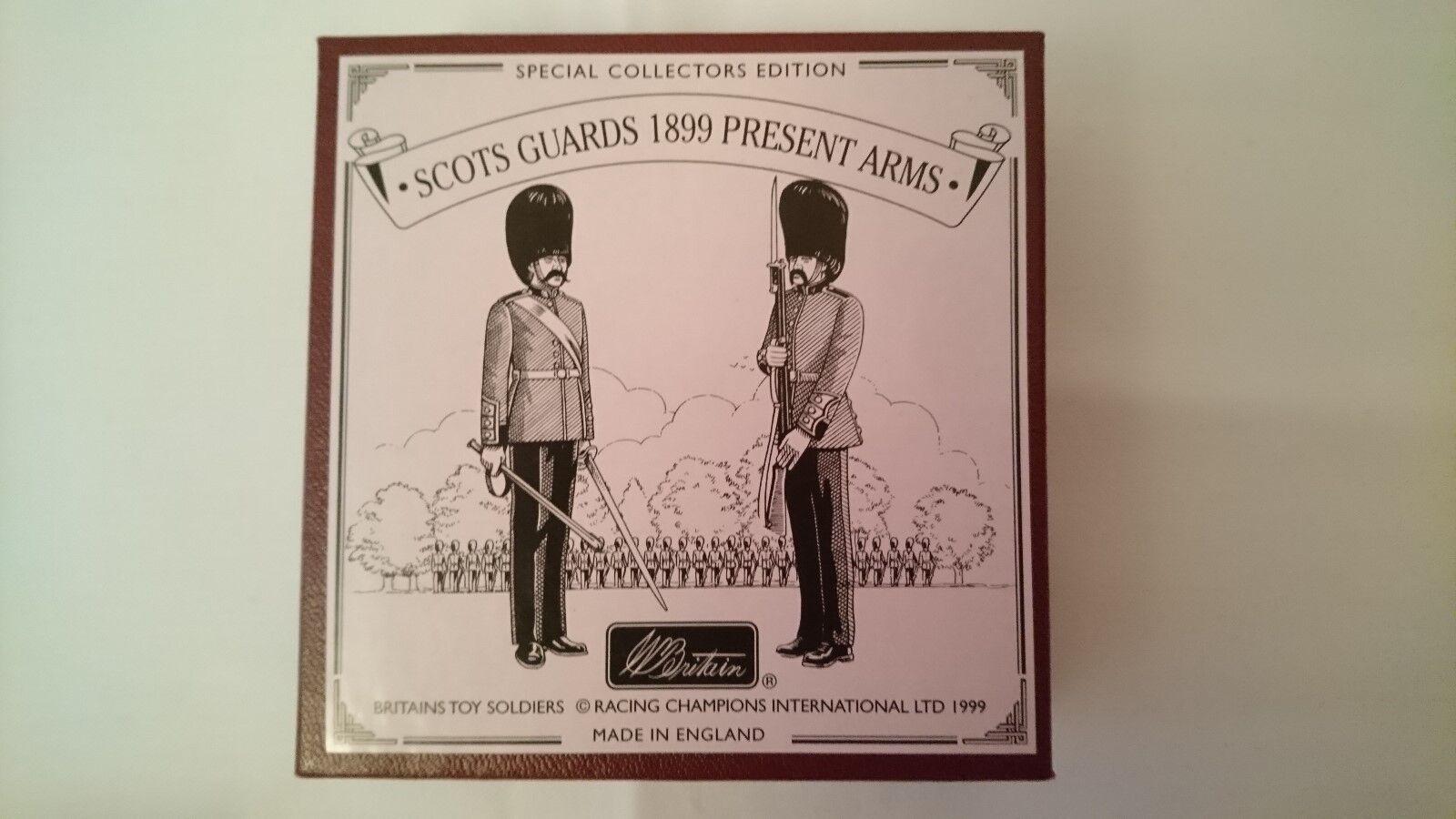 Britains Scot Guards 1899 Present ArmsSpecial Collectors Edition No. 00256.