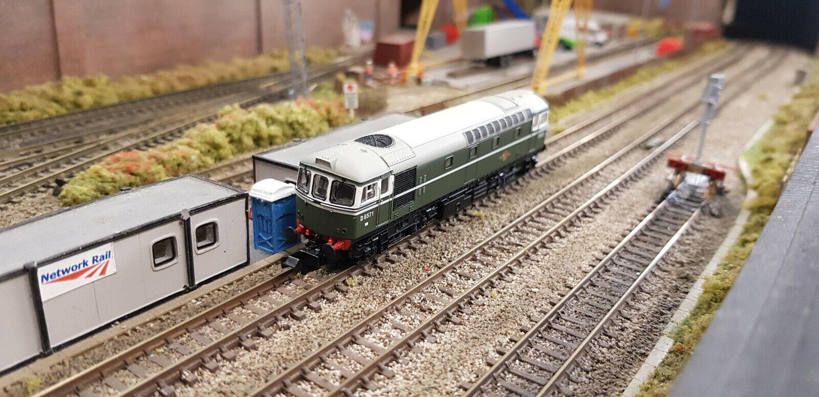 Dapol 2D001001 classe 33 D6571 BR verde No Warning Panel
