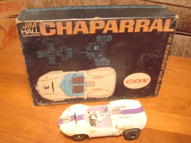 COX CHAPARRAL 1 24 WITH BOX BG1