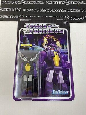 Super 7 ReAction Transformers Wave 2 Shrapnel Action Figure New!