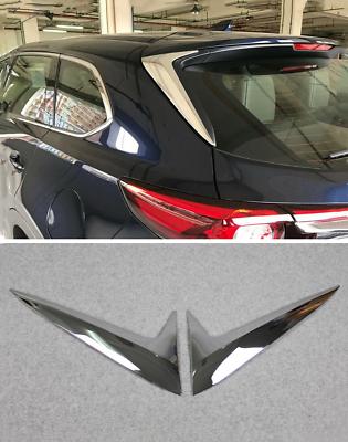 fits 2016-2019 Mazda CX-9 Chrome Rear Windscreen Spoiler Windshield Wing Cover