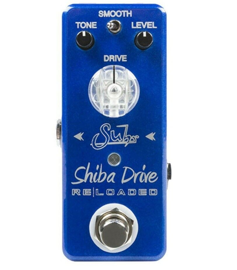 Suhr Shiba Drive Reloaded Mini Overdrive Guitar Pedal True Bypass 9Vdc (only)