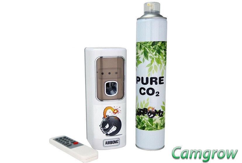 sconto online di vendita Airbomz CO2 telecomando sensore di di di luce Dispenser & Co2 CONTENITORE Idroponica  la migliore moda