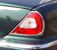 Jaguar XJ X350 and X358 Chrome Rear light Trim 2003 to 2009