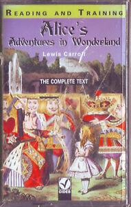LEWIS-CARROLL-Alice-039-s-Adventures-in-Wonderland-1997-MC-TAPE-BRAND-NEW-ORIGINAL