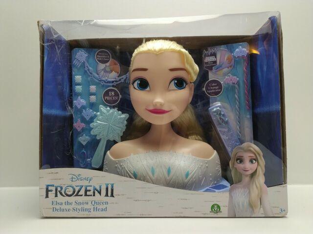 Disney Frozen II Deluxe Elsa Styling Head - (Damaged Retail Packaging) - 32795