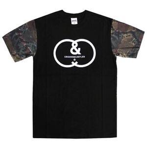 Crooks shirt Crew Castles Noir Verminum Multi T r0gqrw7Ox