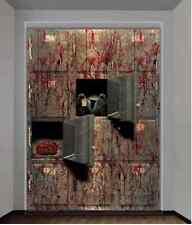 GIANT MORGUE WALL GORE DECOR Halloween Prop Decoration Autopsy CSI