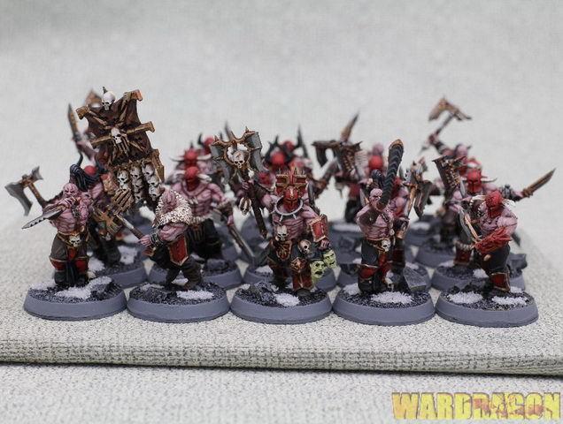 mm Warhammer Wds Pintado Khorne Bloodbound bloodreavers l3
