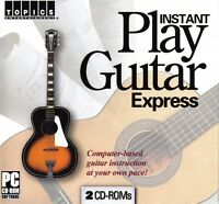 Instant Play Guitar Express - Computer-based Guitar Instruction 014016126
