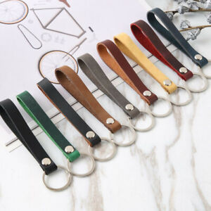1pc-Wrist-Strap-Key-Holder-Leather-Rope-PU-Keychain-Keyring-Key-Chain-Accessory