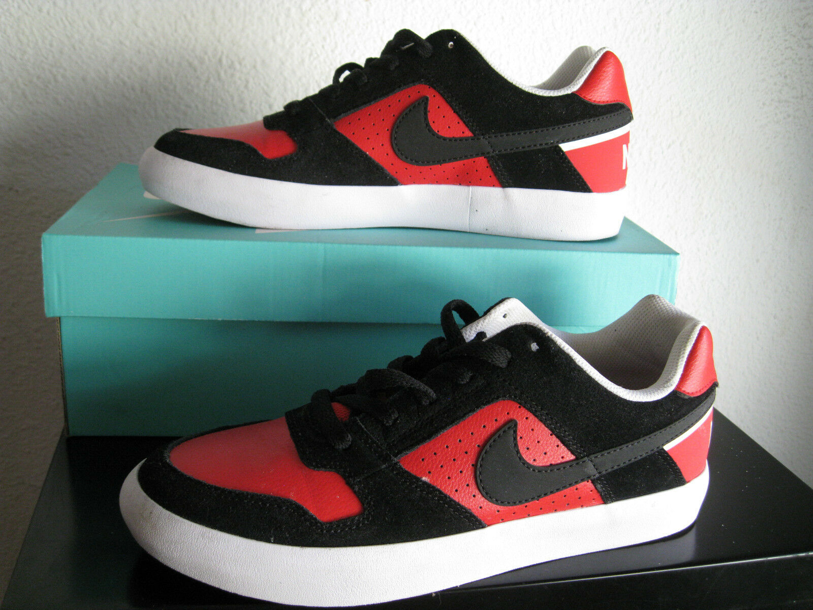 NIKE SB DELTA FORCE ROJO NEGRO US 8