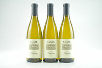 3--bottles 2013 Groth Chardonnay Napa Valley Hillview Vineyard---we-91