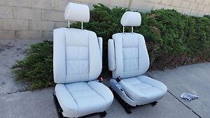 BMW-E34-540-535-525-COMFORT-SEAT-KITS-100-LEATHER-UPHOLSTERY-KITS-NEW-BEAUTIFUL