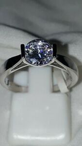 925-STERLING-SILVER-RHODIUM-PLATED-SOLITAIRE-ENGAGEMENT-RING-SIZE-6-7-8-9