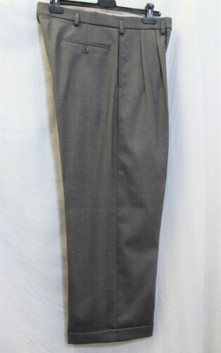 Men/'s 1940/'s Grey Trousers WWII reenactment Swing Lindy Hop 40s Jump Jive WW2