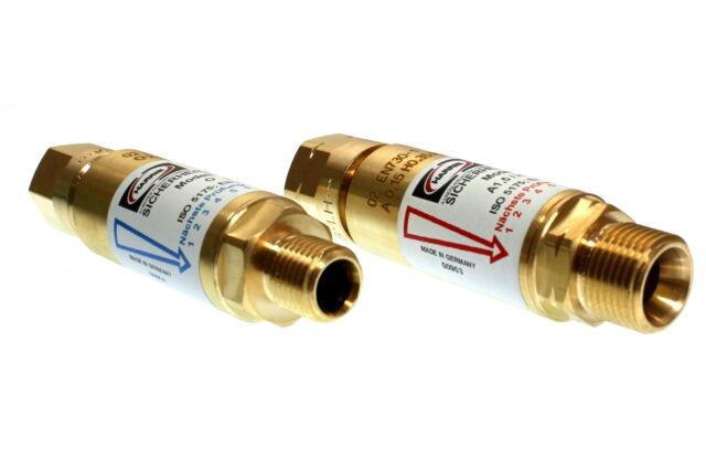 Gebrauchsstellenvorlage Rückschlagsicherung Sauerstoff