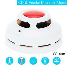 Combination Carbon Monoxide And Smoke Alarm CO & Smoke Detector for Home 7C6K