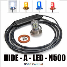 Nova N500 Hide-A-LED Undercover Warning Signal Strobe Amber