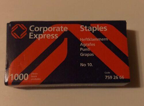 2000 Heftklammern No Staples Top-Qualität 10 Tackernadeln