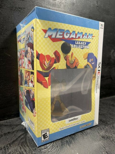Mega Man Legacy Collection: Collector's Edition (Nintendo 3DS, 2016) NEW SEALED!