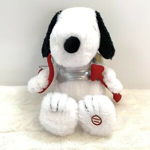 Peanuts-Hallmark-Cupid-Snoopy-Valentine-Plush-Features-Sound-and-Motion-Working