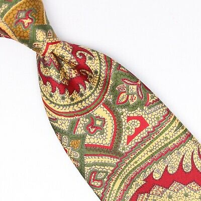 Red Tyler and Tyler Mens Paisley Pocket Square
