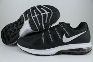Image is loading NIKE-AIR-MAX-DYNASTY-BLACK-WHITE-GRAY-TRAINER-