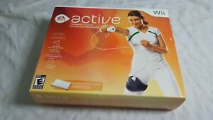 Wii-Active-Personal-Trainer-Nintendo-Wii-2009-Open-Box-NEW-Never-Used