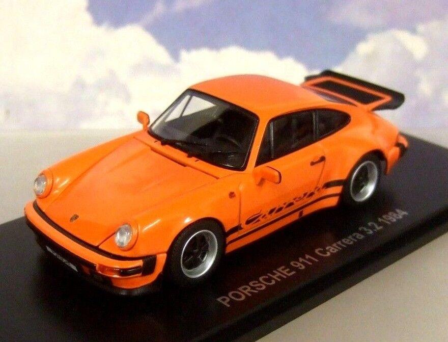 KYOSHO 1 43 DIECAST 1984 PORSCHE 911 CARRERA 3.2 IN orange OPENING PARTS 05522P