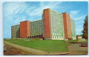 Athens-University-of-Georgia-Creswell-Hall-Womens-Dormitory-Dorms-Postcard-D31