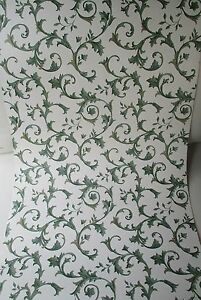 white background shades of green vines with leaves solid vinyl