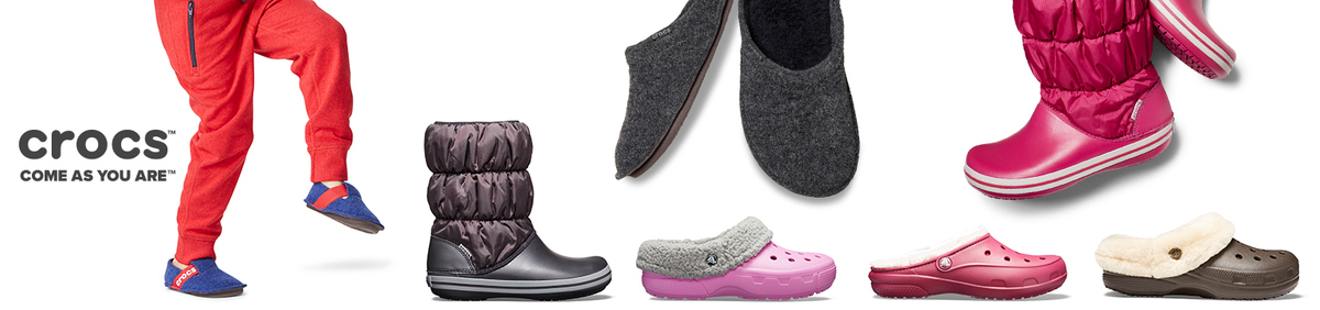 Shop event Sale up to 50% off Crocs Shop out exclusive range.