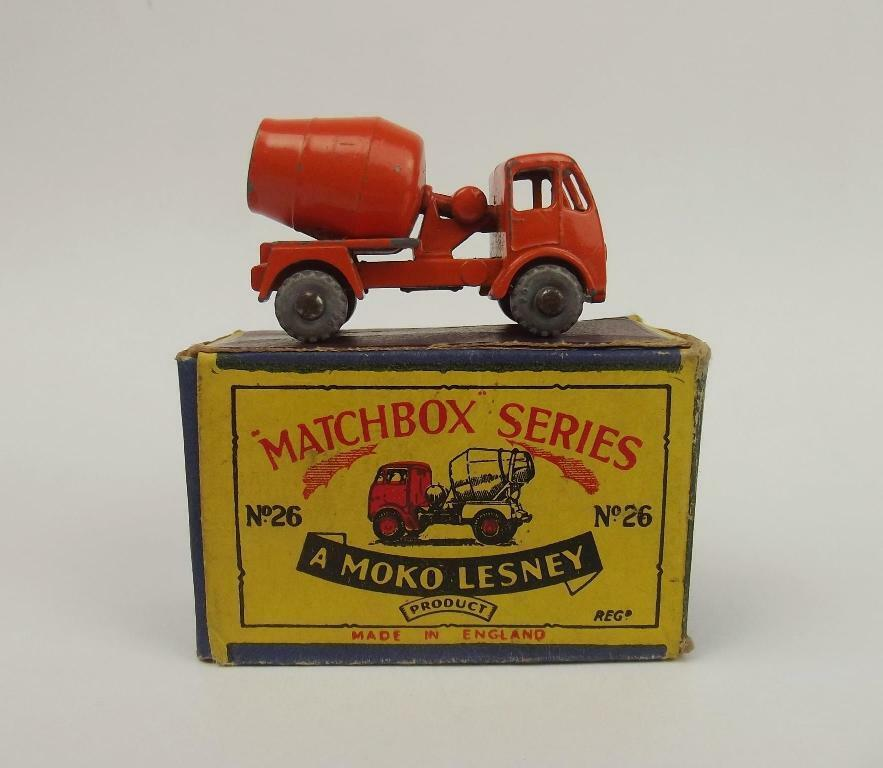 scatolae Matchscatola 26a ERF Cement Mixer Truck 1956-61