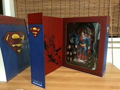 Bellissimo One:12 Dc Comics Classic Superman Man Of Steel Action Figure Mezco 1/12 Mezco