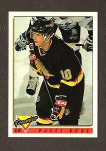 1993-Topps-Premier-Hockey-Card-260-Pavel-Bure-Vancouver-Canucks-F31352