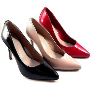 5d40f4b539 Image is loading BCBGeneration-Heidi-Pointed-Toe-Stiletto-High-Heel-Pumps-