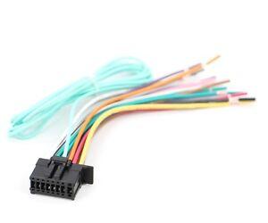 xtenzi wire harness for pioneer avic 5100nex 6100nex 7100nex 8100nex cdp1666 ebay