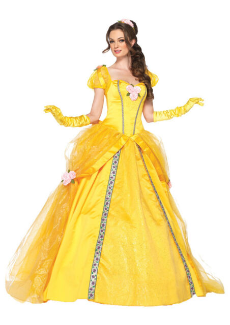 Adult belle costume disney