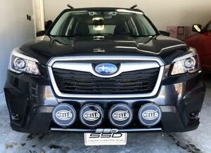 details about fits 2020 subaru forester all ssd rally light bar bull nudge 4 light tabs