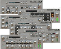 D16 Silver Line Bundle Fx Multiband Distortion Phaser Cubase Audio Plug In