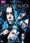 Orphan Black Season Three - 3 Disc Set (2015 Region 1 DVD New)