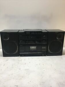 Vintage Classic Sony CD Radio Cassette-Corder Boombox CFD-454 Used Repair