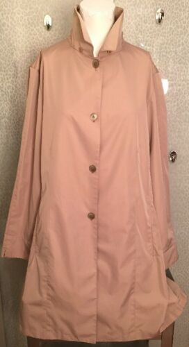 Women's Large Sanyo Beige Trench Coat