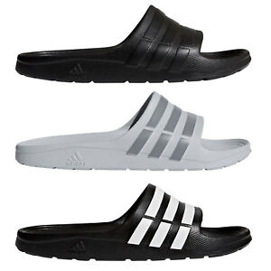 Adidas-Performance-Duramo-Slide-Men-039-s-Shower-Slippers-Bade-Schuhe-Bath-Slippers