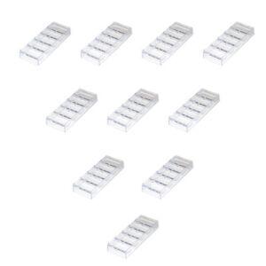 100pcs-Casino-Clear-Acrylic-Chip-Trays-Poker-Chip-Racks-10-Pack
