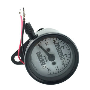 Universal-Motorrad-Tacho-Tachometer-Mechanische-Drehzahlmesser-LCD