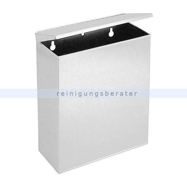 Wandmülleimer Simex Hygienic Edelstahl weiß 5 L Abfallbehälter Mülleimer Eimer